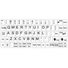 Pegatinas para teclado – pack grande – fondo blanco