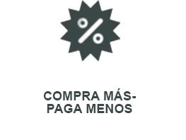 COMPRA MÁS - PAGA MENOS